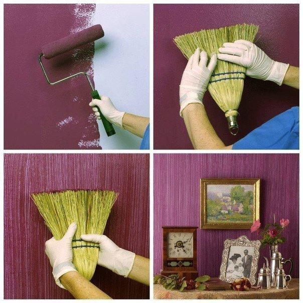 Идеи декора стен своими руками из подручных материалов